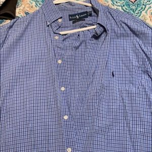 Polo button up LS